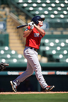 Boston Red Sox Chad De La Guerra (7) during an Instructional League game against the Baltimore Orioles on September 22, 2016 at the Ed Smith Stadium in Sarasota, Florida.  (Mike Janes/Four Seam Images)
