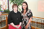 "Town Clerk Joan Martin with Caoimhe Mulroy of ""Once Upon Design"" at the Launch of the new Brand for Drogheda Economic Forum...Photo NEWSFILE/Jenny Matthews.(Photo credit should read Jenny Matthews/NEWSFILE)....This Picture has been sent you under the condtions enclosed by:.Newsfile Ltd..The Studio,.Millmount Abbey,.Drogheda,.Co Meath..Ireland..Tel: +353(0)41-9871240.Fax: +353(0)41-9871260.GSM: +353(0)86-2500958.email: pictures@newsfile.ie.www.newsfile.ie.FTP: 193.120.102.198."