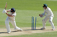Paul Walter of Essex is bowled by Liam Patterson-White during Essex CCC vs Nottinghamshire CCC, LV Insurance County Championship Group 1 Cricket at The Cloudfm County Ground on 5th June 2021