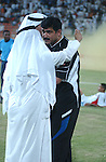 Kuwait vs Oman during the Olympic Preliminary Qualifier Group C match on May 12, 2004  at the Peace and Friendship Stadium in Kuwait City, Kuwait. Photo by World Sport Group