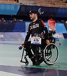 Lulian Ciobanu  Boccia at the 2020 Paralympic Games in Tokyo, Japan-08/30/2021-Photo Scott Grant