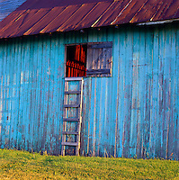 Old barn in the Champlain Valley of Vermont.