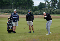 7th July 2021; North Berwick, East Lothian, Scotland; Graeme McDowell Northern Ireland on the 5th fairway during the Celebrity Pro-Am at the abrdn Scottish Open at The Renaissance Club, North Berwick, Scotland.