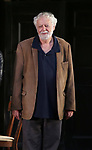 """John Tillinger during the Opening Night Curtain Call Bows for the Roundabout Theatre Company production of """"Apologia"""" on October 16, 2018 at the Laura Pels Theatre in New York City."""