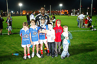 Photo: Richard Lane/Richard Lane Photography. London Wasps in Abu Dhabi for their LV= Cup game against Harlequins on 30st January 2011. 26/01/2011. Wasps' Serge Betsen after training at the Zyaid Sports City.