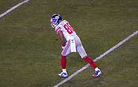 wide receiver Darius Slayton (86) of the New York Giants - 09.12.2019: Philadelphia Eagles vs. New York Giants, Monday Night Football, Lincoln Financial Field