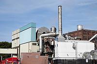 Nederland - Koog aan de Zaan - 2020.  Bedrijf aan de Zaan.  Tate and Lyle Netherlands B.V. Vervaardiging van zetmeel en zetmeelproducten.    Foto ANP / HH / Berlinda van Dam