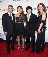 NEW YORK CITY, NY, USA - MAY 01: Raimi family at the Operation Smile Event held at Cipriani Wall Street on May 1, 2014 in New York City, New York, United States. (Photo by Jeffery Duran/Celebrity Monitor)
