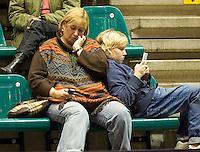 12-12-07, Netherlands, Rotterdam, Sky Radio Masters, Het was niet altijd even spannend in de partij van Michaella Krajicek tegen  Lesley Kerkhove