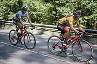 Richie Porte (AUS/BMC)<br /> <br /> stage 7: Aoste > Alpe d'Huez (168km)<br /> 69th Critérium du Dauphiné 2017