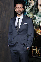 """HOLLYWOOD, CA - DECEMBER 02: Aiden Turner arriving at the Los Angeles Premiere Of Warner Bros' """"The Hobbit: The Desolation Of Smaug"""" held at Dolby Theatre on December 2, 2013 in Hollywood, California. (Photo by Xavier Collin/Celebrity Monitor)"""