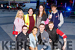 IT Tralee students enjoying the Freshers Fest in the Square on Tuesday night.<br /> Front l to r: Kayla Donnelly, Anne Dowling, Jason O'Byrne and James Martin.<br /> Back l to r: Alys Griffin, Jenny Cotter, Jessica Murphy and Conor O'Brien.