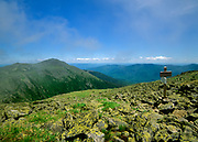 Mount Adams from Gulfside Trail (Appalachian Trail) in Thompson and Meserve's Purchase, New Hampshire; part of the Presidential Range in the White Mountains. Named after John Adams, 2nd President of the United States, Mount Adams (5,774'), is the second highest peak in New Hampshire.