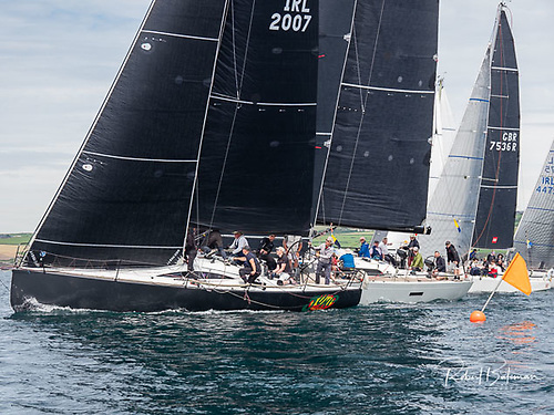 'Jump Juice' flying her North Sails 3Di Mainsail and North Sails 3Di Code 1 Jib at the Sovereign's Cup, Kinsale