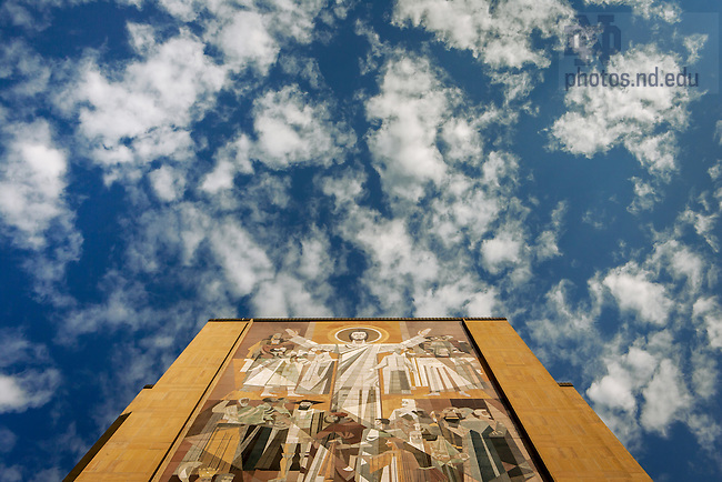 Sept. 24, 2007; The Word of Life Mural, Hesburgh Library.<br /> <br /> Photo by Matt Cashore/University of Notre Dame