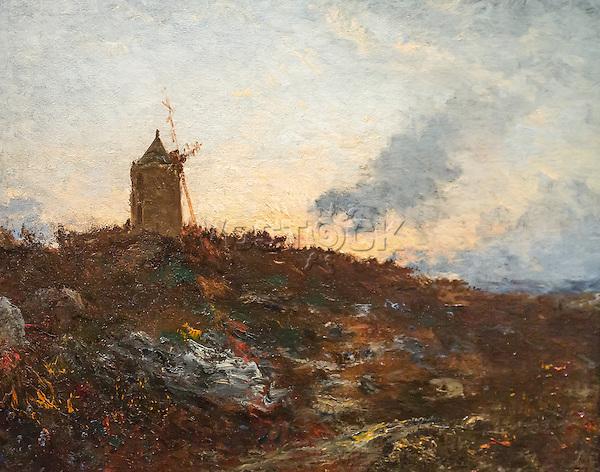 ActiveMuseum_0000044.jpg / Windmill - Felix Ziem - <br />06/06/2013  -  <br />Active Museum / Le Pictorium