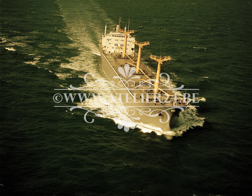 Augustus 1972.  Tanker Ermis.