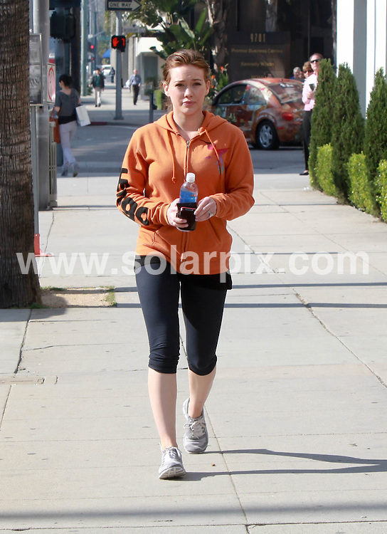 **ALL ROUND PICTURES FROM SOLARPIX.COM**                                             **SYNDICATION RIGHTS FOR UK, AUSTRALIA, DENMARK, PORTUGAL, S. AFRICA, SPAIN & DUBAI (U.A.E) & ASIA (EXCLUDING JAPAN) ONLY**                                                                                  Caption:  Hilary Duff goes shopping at Neiman Marcus, Los Angeles, CA, USA. January 19, 2011                                                                             This pic: Hilary Duff                                                                                             JOB REF: 12687 PHZ Candids      DATE: 19_01_2011                                                           **MUST CREDIT SOLARPIX.COM OR DOUBLE FEE WILL BE CHARGED**                                                                      **MUST AGREE FEE BEFORE ONLINE USAGE**                               **CALL US ON: +34 952 811 768 or LOW RATE FROM UK 0844 617 7637**