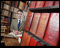 BNPS.co.uk (01202 558833)<br /> Pic: Phil Yeomans/BNPS<br /> <br /> Burke's Peerage & Gentry chairman William Bortrick pictured in 2009.