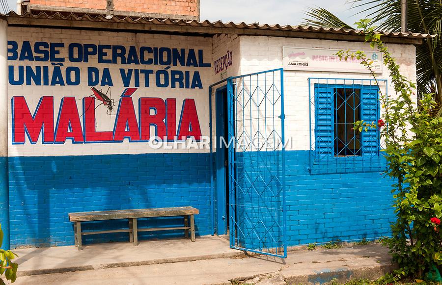 Combate a Malária. Posto de saúde da comunidade Cueiras , Manaus. Amazonas. 2011. Foto João Roberto Ripper