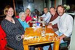 Enjoying the evening in the Failte in Killarney on Saturday, l to r: Cathy, Jane, Marie, John and Liam Kehoe and John O'Sullivan from Beaufort.