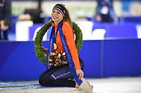 SPEEDSKATING: HEERENVEEN: 17-01-2021, IJsstadion Thialf, ISU European Speed Skating Championships, Jutta Leerdam, ©photo Martin de Jong