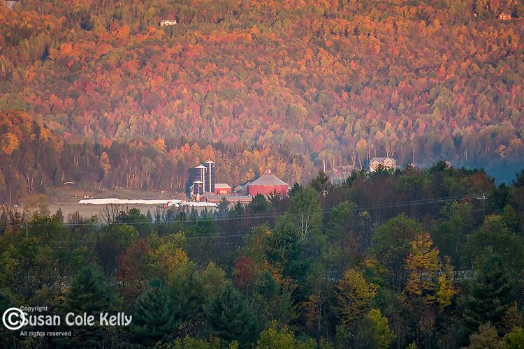 Autumn farm country, Irasburg, VT