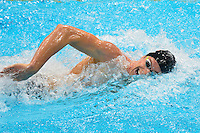 July 28, 2012: Conor Dwyer of United States of America competes in men's 400m Freestyle final event at the Aquatics Center on day one of 2012 Olympic Games in London, United Kingdom.