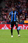 Club Brugge's Stefano Denswil during UEFA Champions League match between Atletico de Madrid and Club Brugge at Wanda Metropolitano Stadium in Madrid, Spain. October 03, 2018. (ALTERPHOTOS/A. Perez Meca)