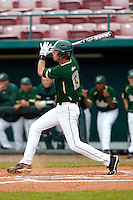 USF Bulls outfielder Buddy Putnam #13 at bat during a game against the Minnesota Gophers at the Big Ten/Big East Challenge at Al Lang Stadium on February 19, 2012 in St. Petersburg, Florida.  (Mike Janes/Four Seam Images)
