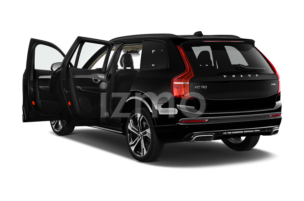Car images close up view of a 2020 Volvo XC90 R-Design 5 Door SUV doors