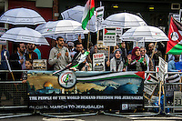 """07.06.2014 - """"The Global March to Jerusalem 2014"""" in London"""