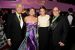 "From left: Vic Fertitta, Nina Greenberg, Kelli Fertitta and Steve Greenberg at the San Luis Salute ""Space Pirates"" VIP reception Friday February 24,2017. (Dave Rossman Photo)"