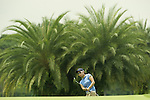 SINGAPORE - MARCH 07:  Sun Young Yoo of South Korea chips on the par five 15th hole during the third round of HSBC Women's Champions at the Tanah Merah Country Club on March 7, 2009 in Singapore. Photo by Victor Fraile / The Power of Sport Images