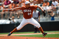 Green, Cole 0477.jpg.  Big 12 Baseball game with Texas A&M Aggies at Texas Lonhorns  at UFCU Disch Falk Field on May 9th 2009 in Austin, Texas. Photo by Andrew Woolley.
