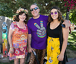 """Toni, Larry and Serafina during the Pops on the River """"A night at Woodstock"""" concert at Wingfield Park in downtown Reno on Saturday, July 13, 2019."""