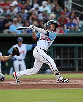 Matt Hearn participates in the 2019 California League All-Star Game at San Manuel Stadium on June 18, 2019 in San Bernardino, California (Bill Mitchell)