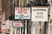 B&B hotels used to house homeless families in King's Cross, central London