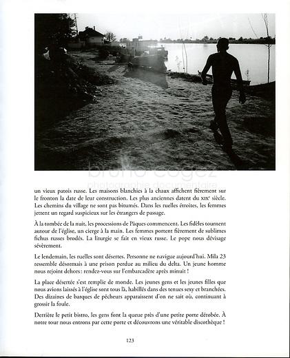 """FRANCE, 2008.Publication du reportage """"Delta du Danube : Mila 23"""" dans la revue Au Sud de l'Est..Publication of the feature """"Delta of Danube: Mila 23"""" in the French review Au Sud de l'Est..© Bruno Cogez"""