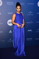 Naomi Ackie<br /> arriving for the British Independent Film Awards 2017 at Old Billingsgate, London<br /> <br /> <br /> ©Ash Knotek  D3359  10/12/2017