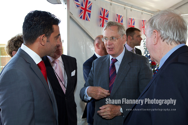 Pix: Shaun Flannery/shaunflanneryphotography.com...COPYRIGHT PICTURE>>SHAUN FLANNERY>01302-570814>>07778315553>>..6th September 2012..Rotherham Metropolitan Borough Council (RMBC)..Visit by His Royal Highness The Duke of Gloucester KG GCVO and Duchess of Gloucester to Clifton Park, Rotherham..Cllr Mahroof Hussain.