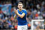 St Johnstone v Rangers…11.09.21  McDiarmid Park    SPFL<br />Liam Craig applauds the fans<br />Picture by Graeme Hart.<br />Copyright Perthshire Picture Agency<br />Tel: 01738 623350  Mobile: 07990 594431