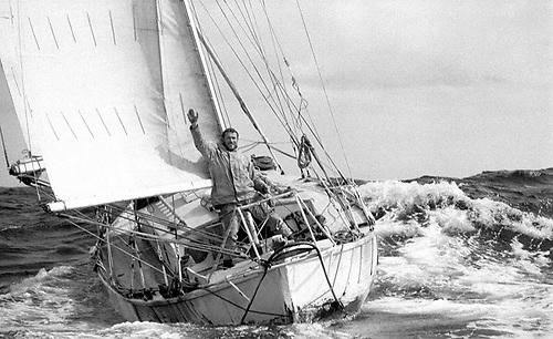 Robin Knox-Johnston, winner of the 1968 Sunday Times Golden Globe Race. Photo: PPL