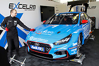 2020 British Touring Car Championship Media day. #18 Senna Proctor. Excelr8 Motorsport. Hyundai i30N.