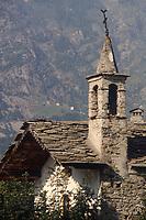 - Val di Gressoney, antica cappella medioevale<br /> <br /> - Gressoney Valley, ancient medieval chapel