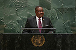 General Assembly Seventy-fourth session, 7th plenary meeting<br /> <br /> <br /> His Excellency Arthur Peter Mutharika, President, Minister for Defense and<br /> Commander-in-Chief of the Malawi Defense Force and the Malawi Police Service,<br /> Republic of Malawi