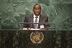 Democratic Republic of the Congo<br /> H.E. Mr. Raymond Tshibanda N'tungamulongo<br /> Minister for Foreign Affairs<br /> <br /> General Assembly Seventy-first session, 17th plenary meeting<br /> General Debate