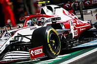 26th March 2021; Sakhir, Bahrain; F1 Grand Prix of Bahrain, Free Practice sessions;  99 GIOVINAZZI Antonio (ita), Alfa Romeo Racing ORLEN C41 during Formula 1 Gulf Air Bahrain Grand Prix