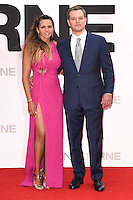 """Matt Damon and wife, Luciana Barroso<br /> arrives for the """"Jason Bourne"""" premiere at the Odeon Leicester Square, London.<br /> <br /> <br /> ©Ash Knotek  D3139  11/07/2016"""