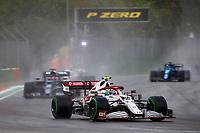 18th April 2021; Autodromo Enzo and Dino Ferrari, Imola, Italy; F1 Grand Prix of Emilia Romagna, Race Day;  99 GIOVINAZZI Antonio ita, Alfa Romeo Racing ORLEN C41
